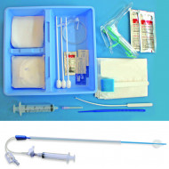 HSG Tray, with 5 Fr HSG Catheter, Case of 10